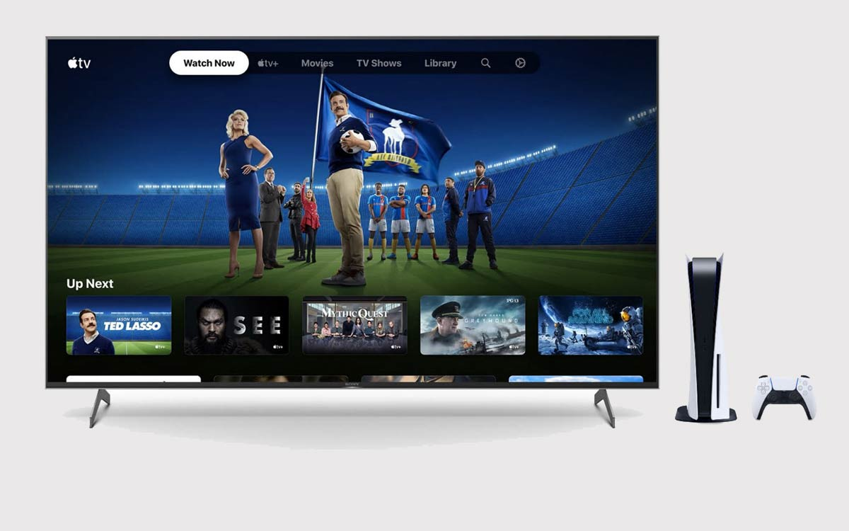 Apple TV+ gratuit sur PS5