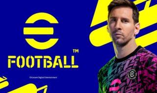 eFootball : Konami révèle la date de sortie de l'héritier de PES