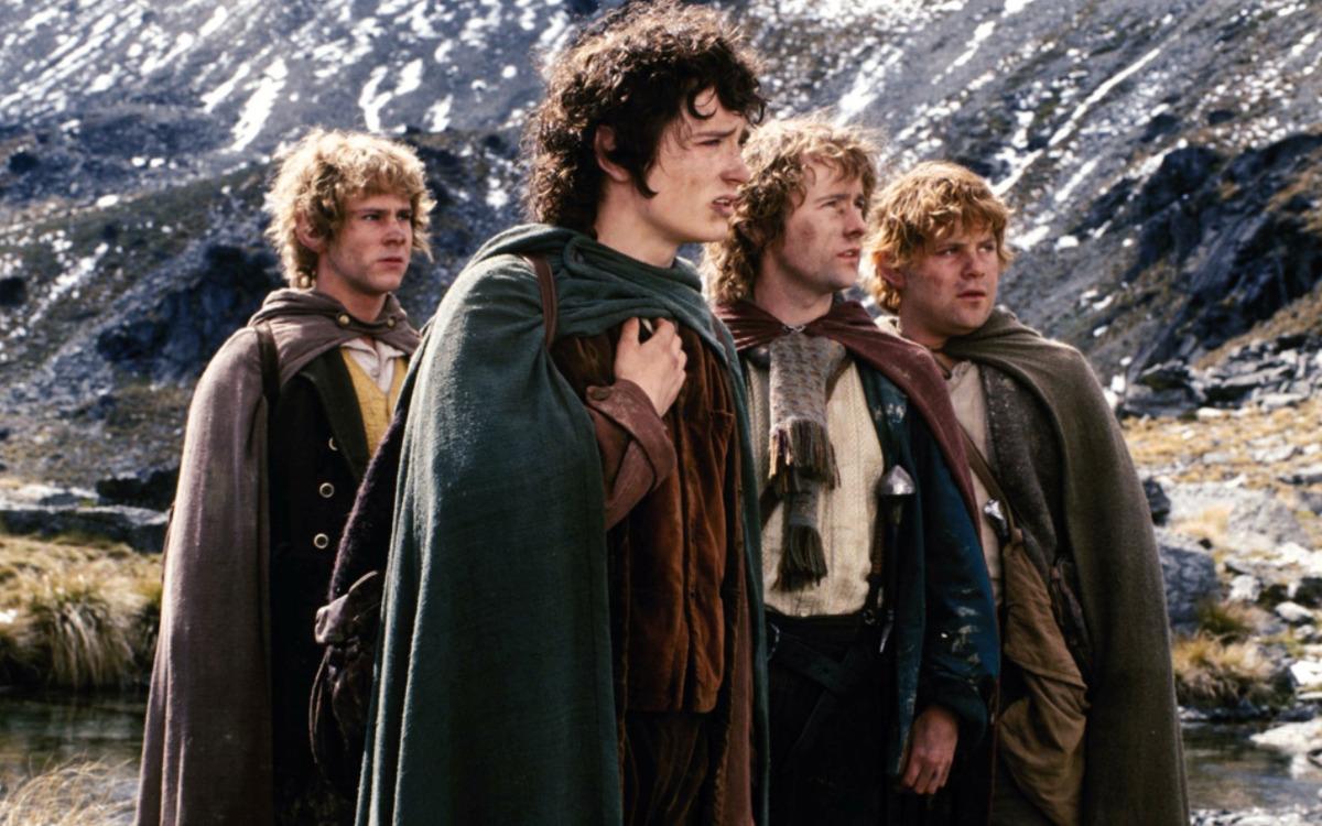 Les hobbits dans Le Seigneurs des Anneaux