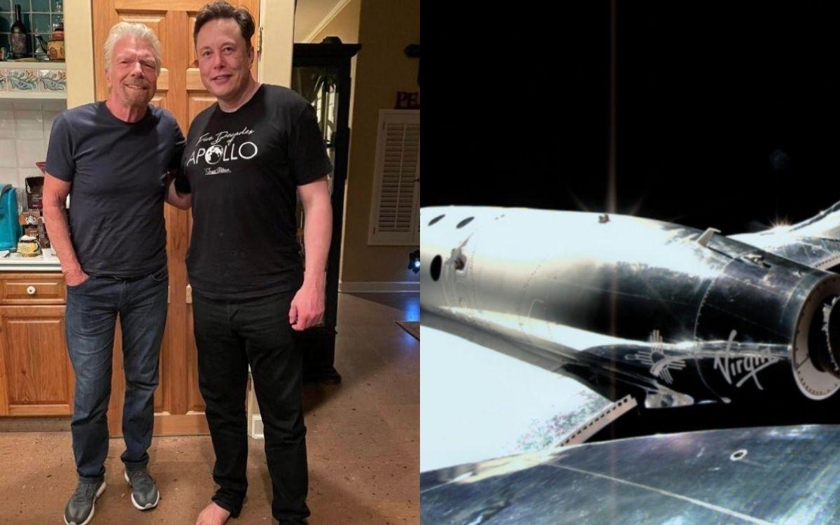 Elon Musk a pris son ticket auprès de Virgin Galactic
