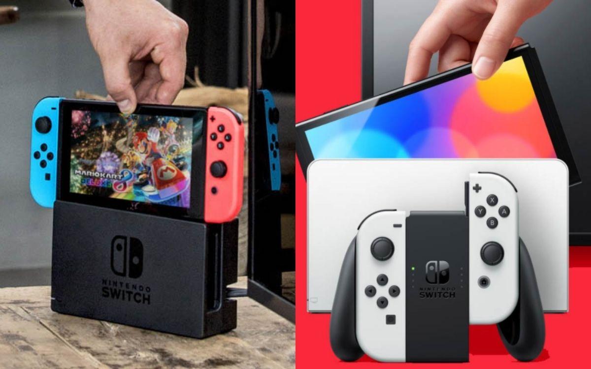 Nintendo Switch vs Switch OLED