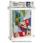 Super Mario 64 : record de vente aux enchères battu