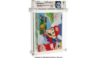 Super Mario 64 : une cartouche vendue 1,56 million de dollars aux enchères, nouveau record du monde