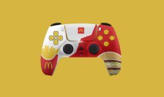 PS5 : McDonald's offre des DualSense aux couleurs de l'enseigne, Sony s'y oppose
