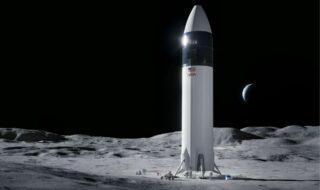 SpaceX : jusqu'à 16 lancements de Starship pour atteindre la Lune, Elon Musk détaille son plan