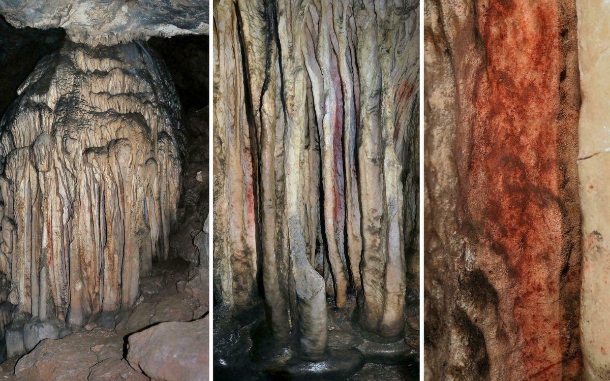 Stalagmites Néandertal