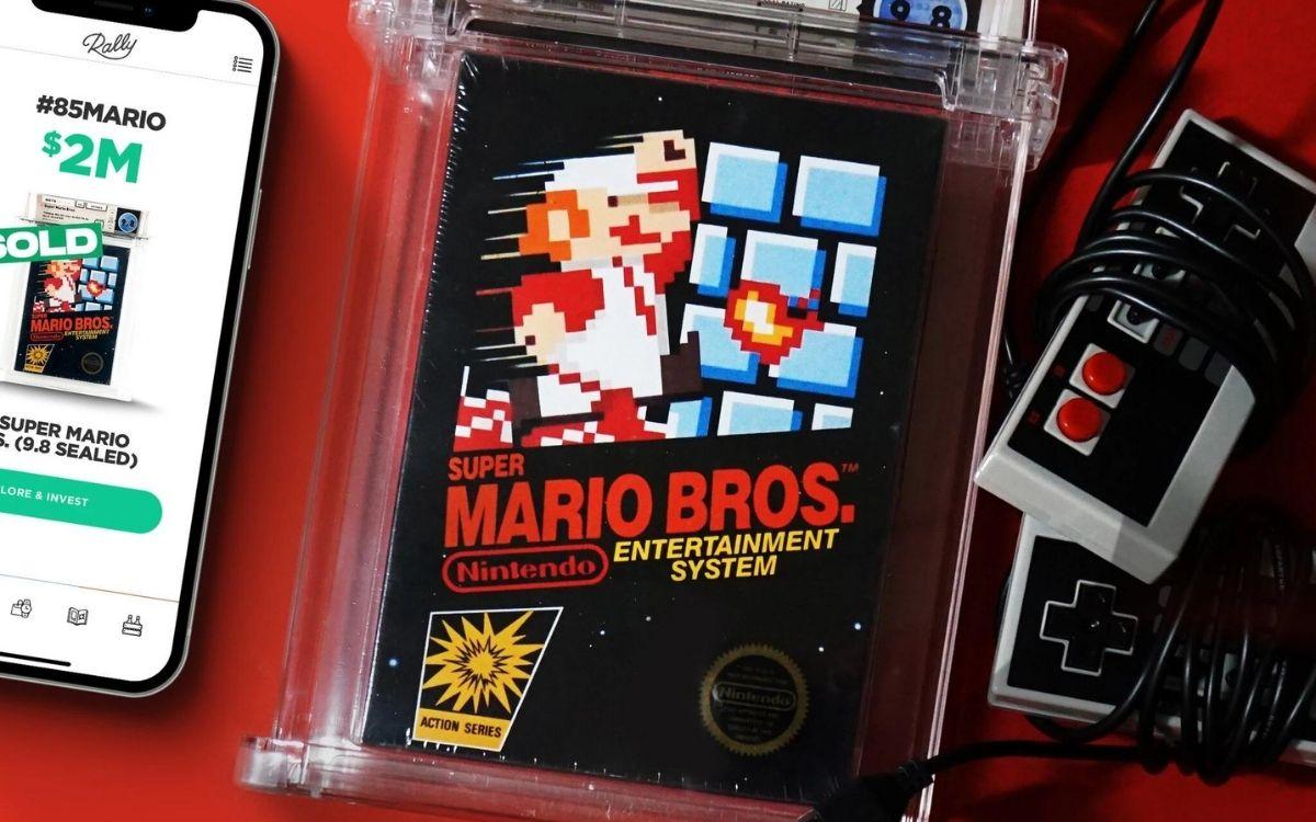 Super Mario Bros enchères Rallye