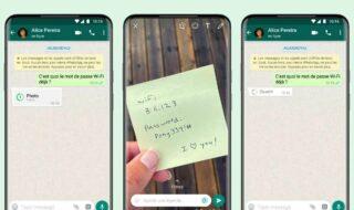 WhatsApp : vous pouvez désormais envoyer des photos qui s'autodétruisent après visionnage