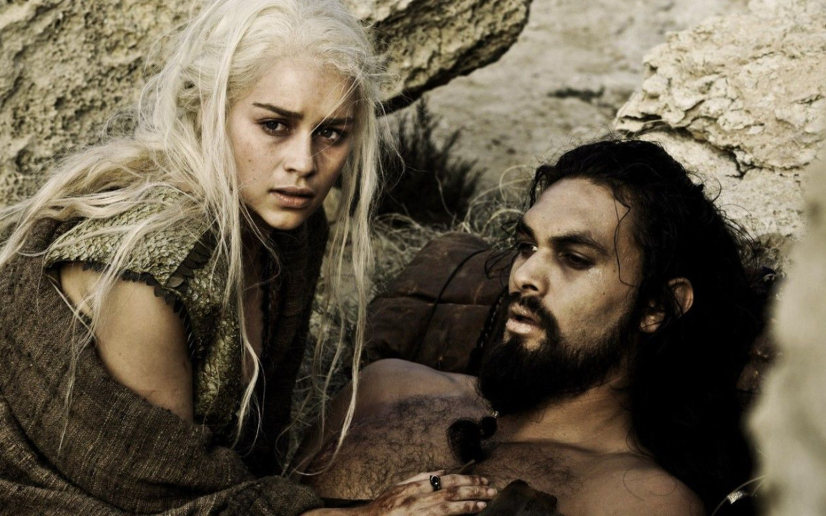 Khal Drogo et Daenerys
