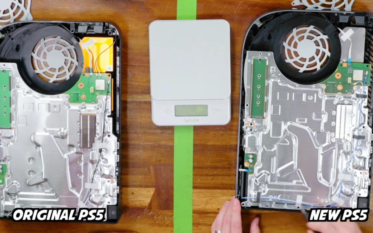 Voici pourquoi la nouvelle PS5 est moins lourde