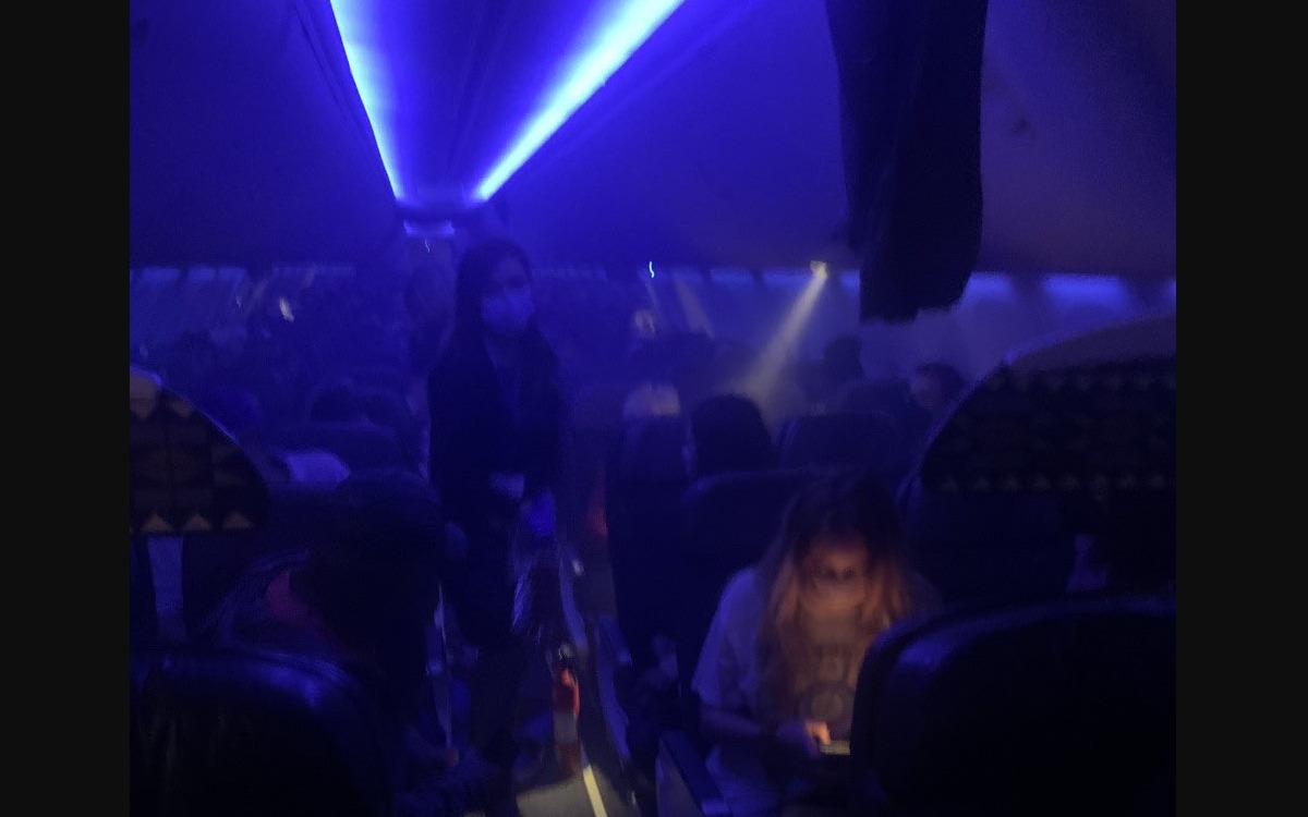 Un smartphone Samsung prend feu dans un avion