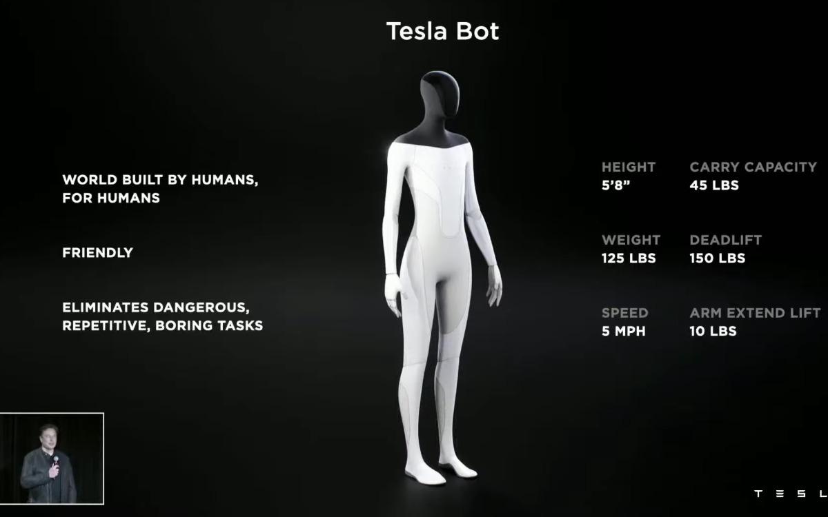 Le Tesla Bot