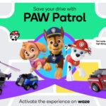 La Pat' Patrouille s'invite dans Waze