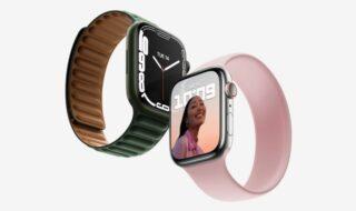 Apple Watch Series 7 : bords arrondis, plus grand écran, la nouvelle montre connectée dévoilée