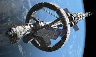La Chine veut construire d'énormes vaisseaux spatiaux d'un kilomètre de long
