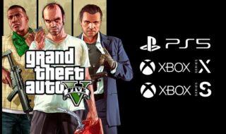 GTA 5 sur PS5 et Xbox Series X/S : sa date de sortie est repoussée en 2022