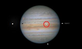 Jupiter : des astronomes filment l'impact violent d'un astéroïde sur la planète