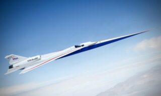 NASA : un écran 4K va remplacer le cockpit de l'avion supersonique X-59