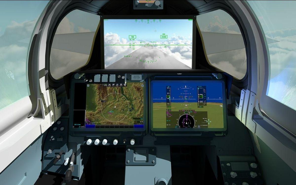 Lockheed Martin X-59 QueSST écran 4K