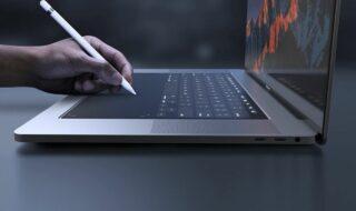 Apple : un brevet révèle un futur MacBook Pro doté d'un trackpad géant