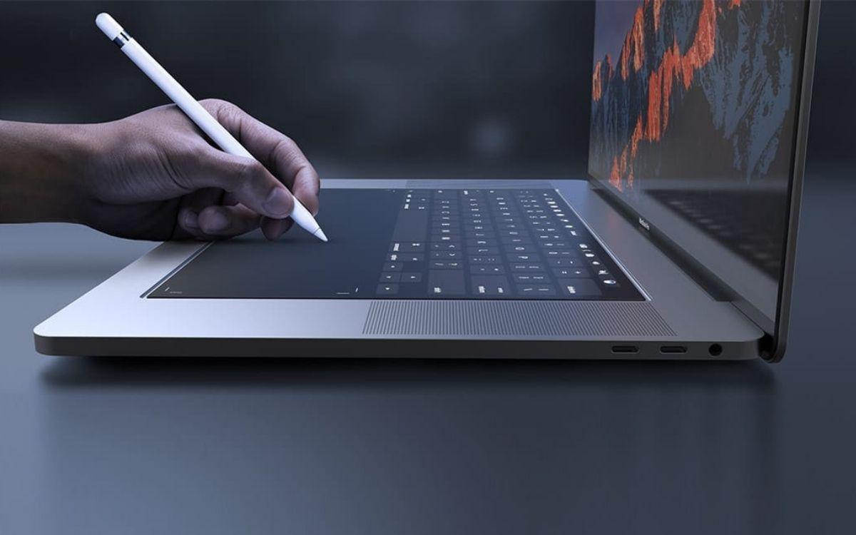 Concept de nouveau MacBook Pro