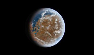 Mars est trop petite pour retenir de l'eau liquide, selon une étude