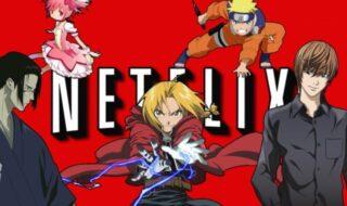 Netflix meilleurs animes