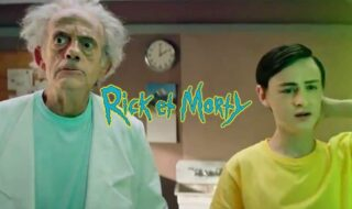 Rick et Morty : le Doc de Retour vers le futur incarne Rick dans ce teaser déjanté