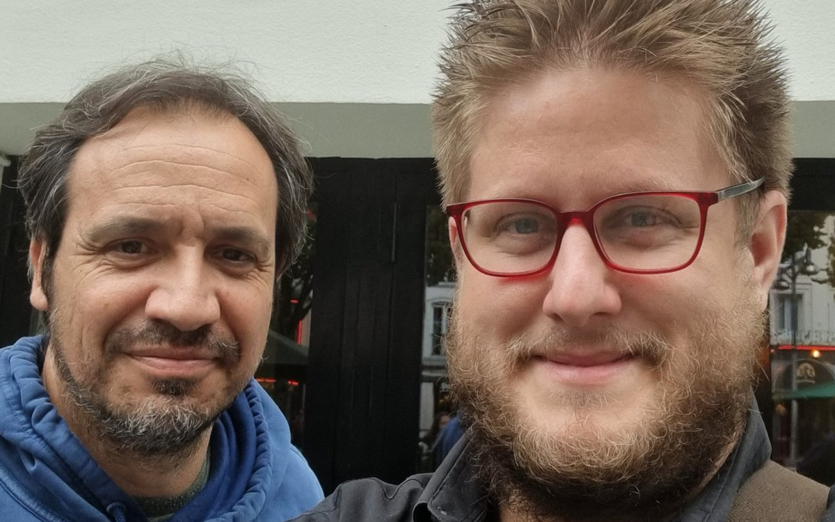 Arnauld Klein et Alexandre Astier