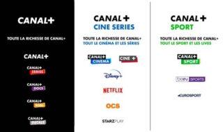 Canal+ propose de nouvelles formules incluant Netflix, Disney+ et beIN SPORTS, on fait le point