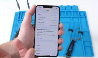 iPhone 13 : Face ID ne marchera plus si vous changez l'écran en dehors d'un Apple Store