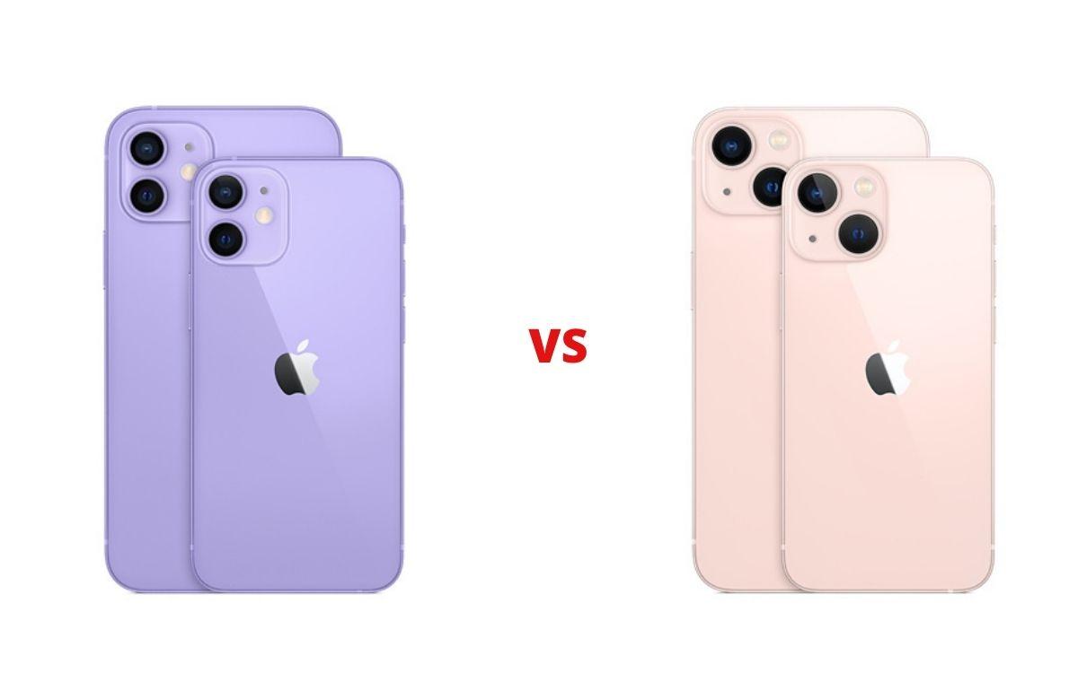 iPhone 12 vs iPhone 13