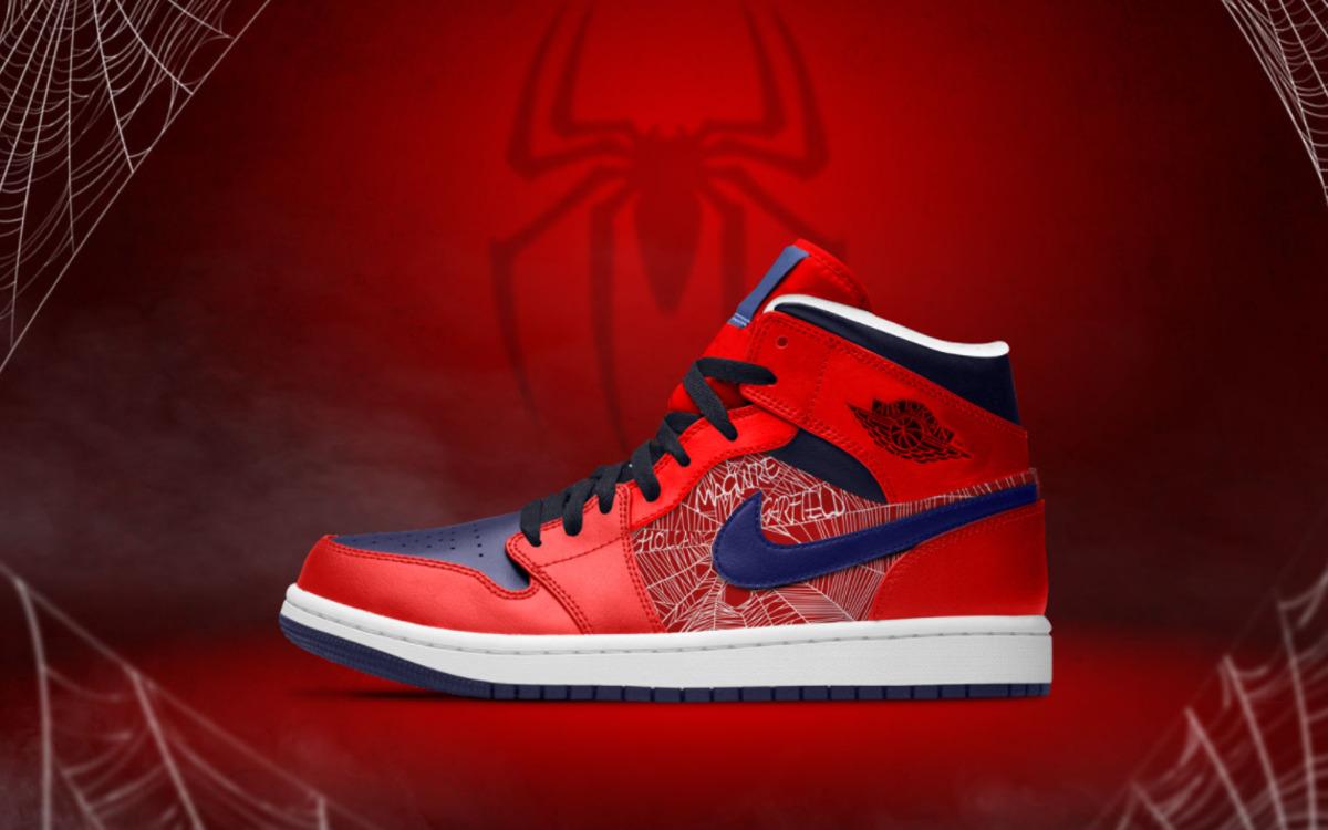 Les Nike à l'effigie de Spider-Man