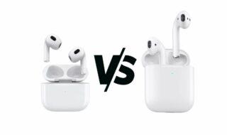 AirPods 3 vs AirPods 2 : quelles différences ?