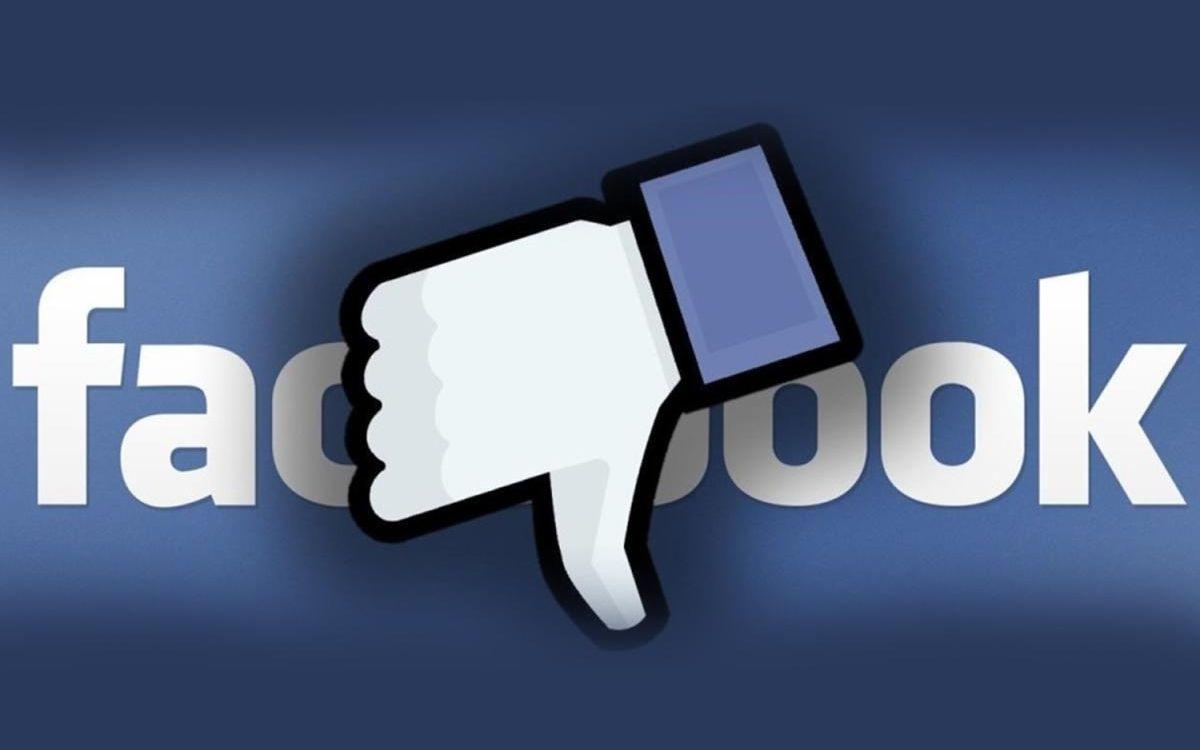 Facebook panne