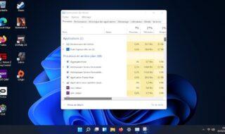 Windows 11 : comment ouvrir le Gestionnaire des tâches ?