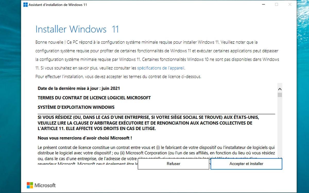Installer Windows 11