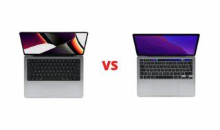 MacBook Pro 2021 vs MacBook Pro 2020 : quelles différences ?
