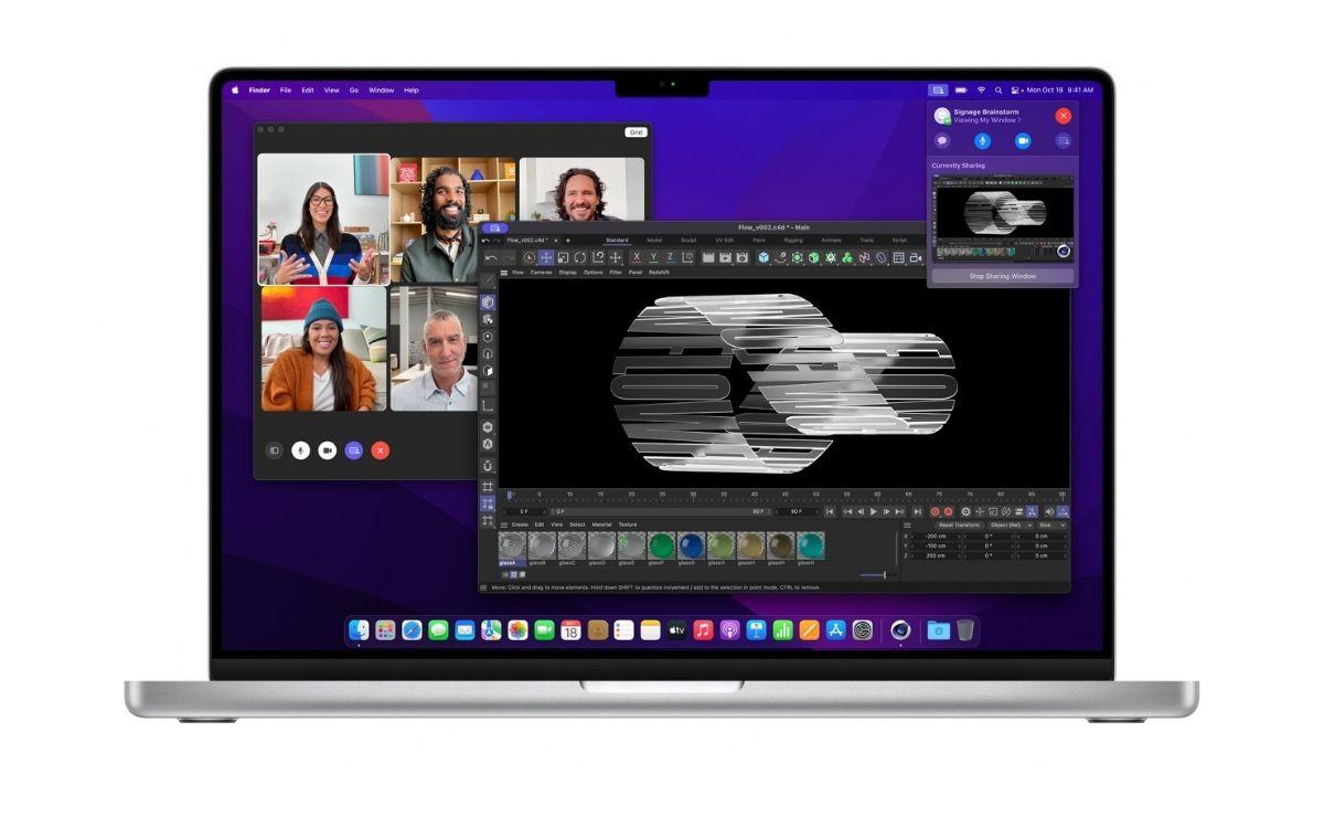 MacBook Pro 2021 caméra