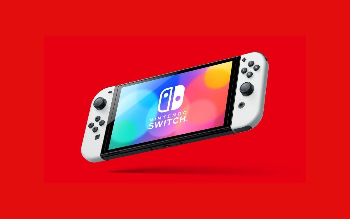 Switch OLED © Nintendo