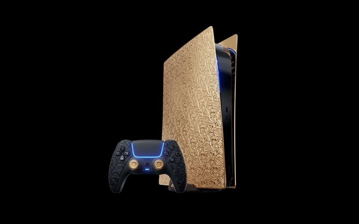 PS5 en or