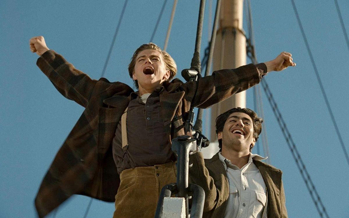 Titanic Je suis le maître du monde