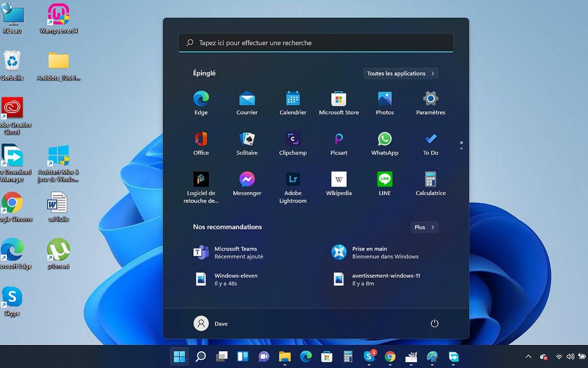 Installer Windows 11 sur un PC non compatible