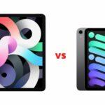 iPad Air vs iPad mini
