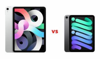 iPad Air 4 vs iPad mini 6 : quelles différences ?