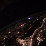 Le phénomène lumineux transitoire captée par Thomas Pesquet