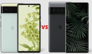 Pixel 6 vs Pixel 6 Pro : lequel choisir ?