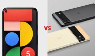 Google Pixel 6 vs 6 Pro vs Pixel 5 : quelles différences ?